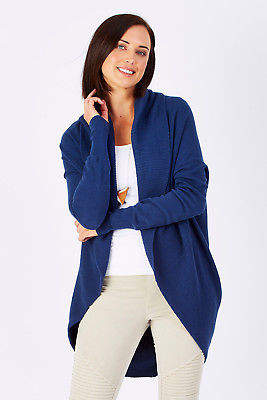 NEW Natural for birds Womens Cardigans Natural Cocoon Cardigan