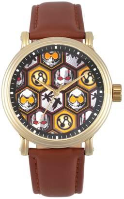 Marvel Marvel's Ant-Man Men's Gold Tone Watch