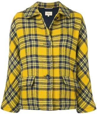 Bellerose check fitted jacket