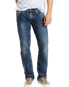 Levi's 514 Straight Jeans In Black Stone