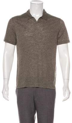 John Varvatos Short Sleeve Polo Shirt