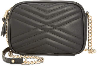 INC International Concepts I.n.c. Glam Quilted Camera Crossbody