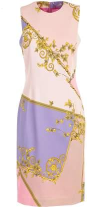 Versace Eye Shadow Printed Pencil Dress