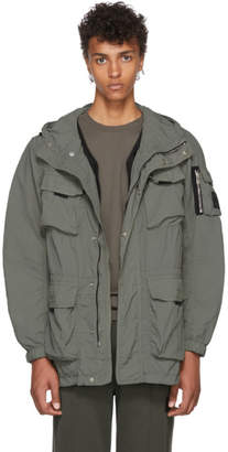 Belstaff Green Pallington Hooded Jacket