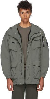 Belstaff Green Pallington Hooded Jacket