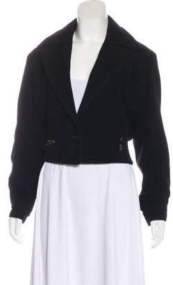 Alaia Notch-Lapel Wool Jacket