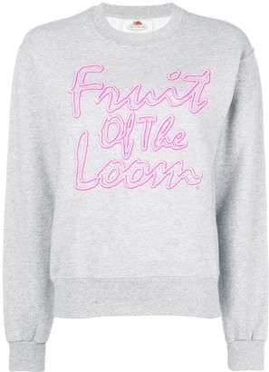 Cédric Charlier Fruit of Loom printed sweatshirt