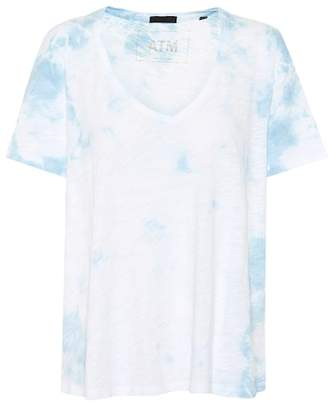 ATM Anthony Thomas Melillo Tie-dye Boyfriend cotton T-shirt