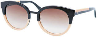 348ee0be19 Tory Burch Eclectic Two-Tone Sunglasses