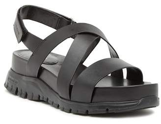 Cole Haan ZeroGrand Platform Wedge Sandal