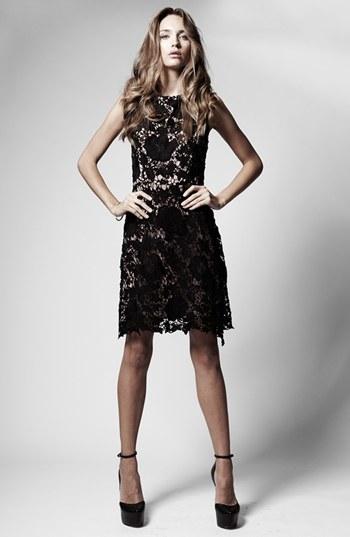 LABEL by five twelve Lace A-Line Dress