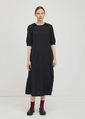 Comme des Garcons Broad Garment Treated Dress Black