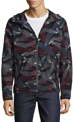 Perry Ellis 360 Printed Hooded Jacket