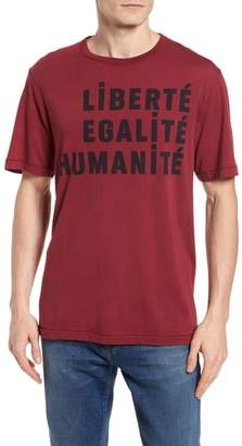 French Connection Egalite Regular Fit Graphic T-Shirt