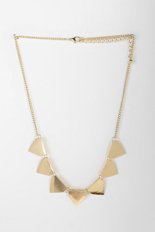 Urban Outfitters Triangle Banner Necklace