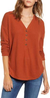Socialite Thermal Henley