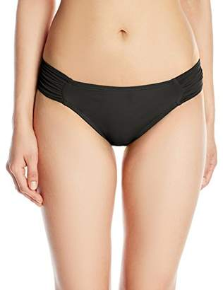 LaBlanca La Blanca Women's Island Goddess Shirred Side Hipster Bikini Bottom