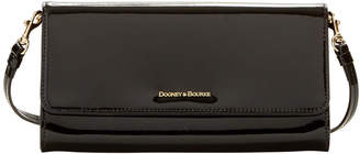 Dooney & Bourke Patent Leather Crossbody Clutch