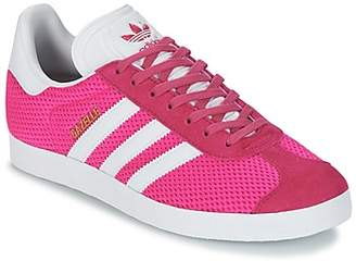 premium selection e99a6 c3529 Pink Adidas Gazelle - ShopStyle UK