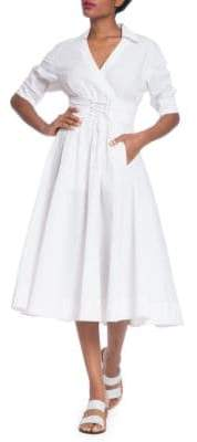 Tracy Reese Corset Shirt Dress