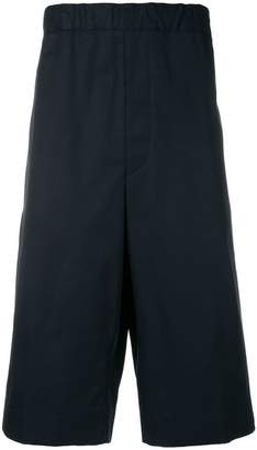Jil Sander high-waisted chino shorts