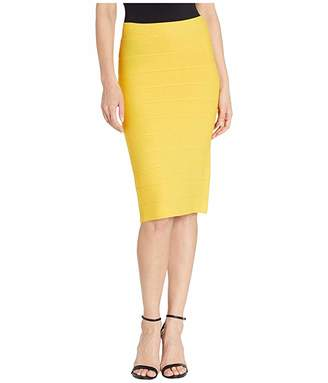 BCBGMAXAZRIA Fitted Knit Skirt