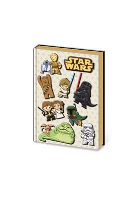 Star Wars Pyramid America Kawaii Star-Wars Notebook