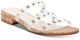 Jessica Simpson Caira Studded Flat Sandals Women Shoes