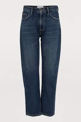Current/Elliott Current Elliott The Vintage cropped slim fit jeans