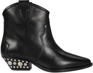 Isabel Marant Studded Heel Ankle Boots