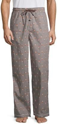 Psycho Bunny Logo Print Pajama Pants