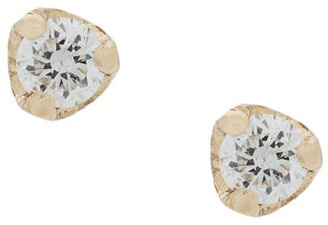 Chicco Zoë 14kt yellow gold diamond studs