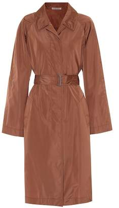 Bottega Veneta Silk-blend trench coat