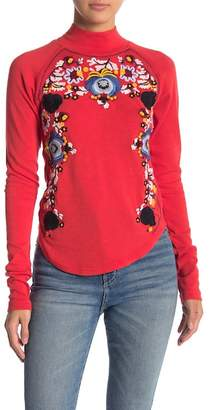 Free People Disco Rose Pullover