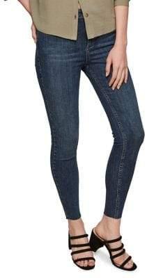 Miss Selfridge Open Hem Skinny Jeans
