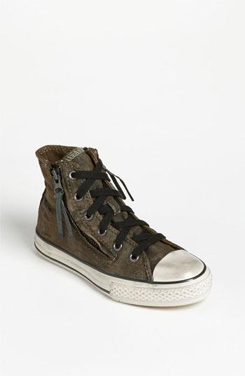 Converse by John Varvatos 'Double Zip' High Top Sneaker (Toddler, Little Kid & Big Kid)