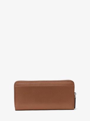 4308b558f61d5 Michael Kors Harrison Leather Zip-Around Wallet