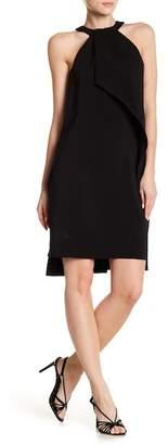 Issue New York Cold Shoulder Halter Dress