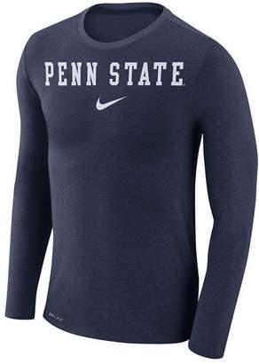 Nike Men's Penn State Nittany Lions Marled Long Sleeve T-Shirt