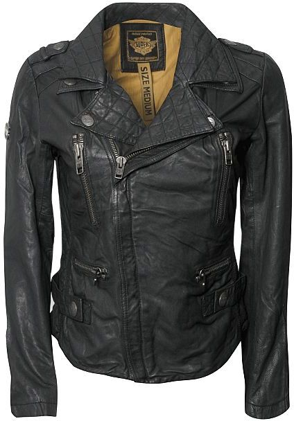 Superdry Motorbike Leather Jacket