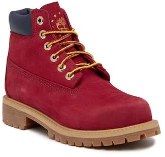 "Timberland 6"" Premium Waterproof Boot (Little Kid)"