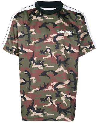 Palm Angels camouflage printed oversized T-shirt