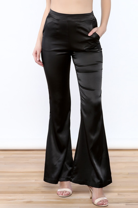 Cotton Candy Silk Bell Bottoms $48 thestylecure.com