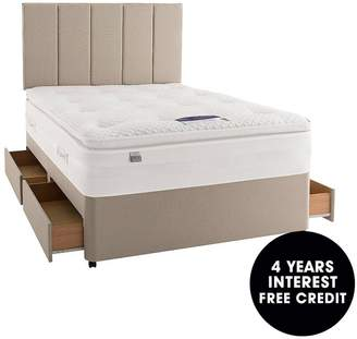 Silentnight Mirapocket Jasmine 2000 Geltex Divan With Storage Options