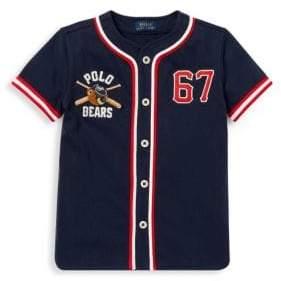 Ralph Lauren Little Boy's& Boys' Baseball Shirt
