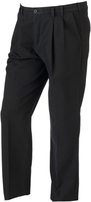 Izod Big & Tall Classic-Fit Sportflex Performance Plus Stretch Double-Pleated Pants