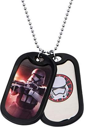 Star Wars Jewelry Episode 7 Stormtrooper Stainless Steel Double Dog Tag Pendant Necklace