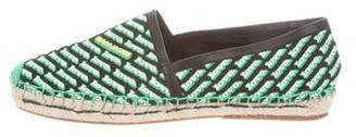 Marc Jacobs Coated Canvas Espadrille Flats