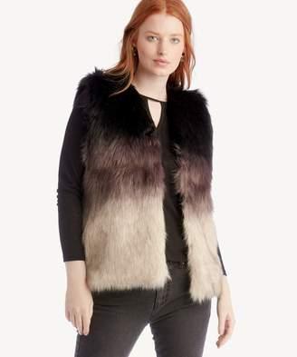 Sole Society Ombre Faux Fur Vest