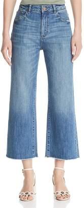 DL1961 DL196 Hepburn Wide Leg Jeans in Palmer